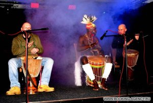 Waka-Waka, шоу африканских барабанов - заказ артиста
